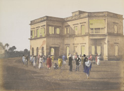 Establishment of an English gentleman, Calcutta